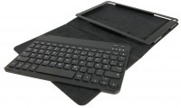 BT (Bluetooth) Tastatur + Smart Case für ODYS Note Tab Pro 2in1