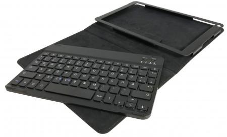 BT (Bluetooth) Tastatur + Smart Case für ODYS Note Tab Pro 2in1