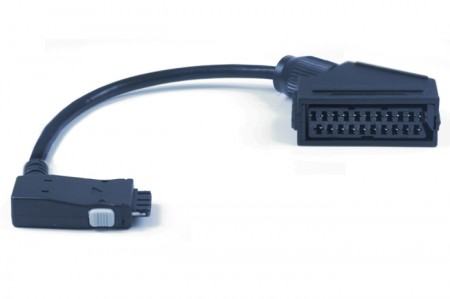 Scart Adapter for ODYS  Fino/Fino+ Serie / Base 22/26 / MonoX Serie